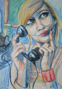 2011 On the phone