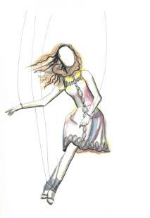 Puppet dancer