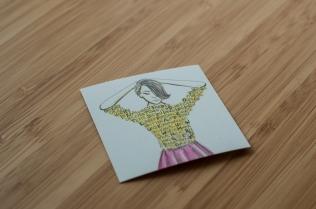 Visitenkarte Elise