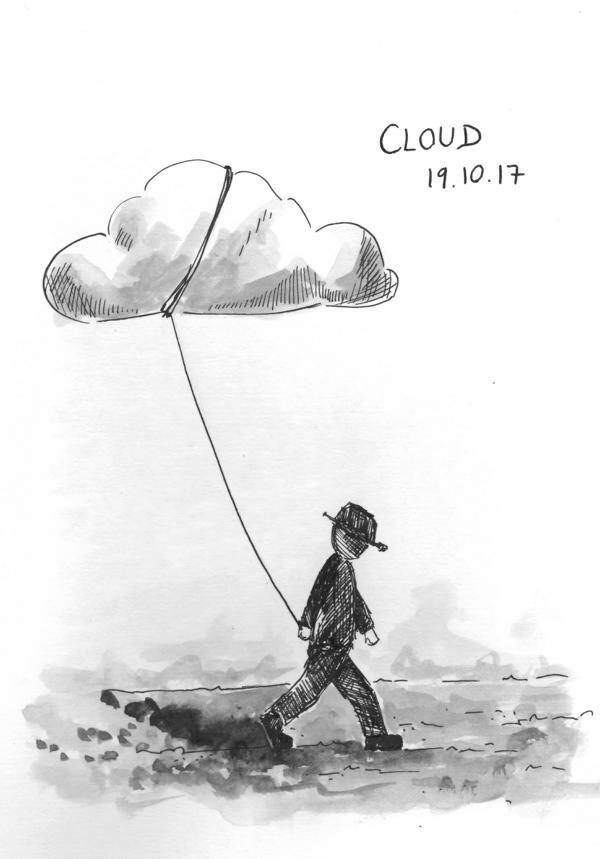 171019 Inktober Cloud_Melanie_Franz