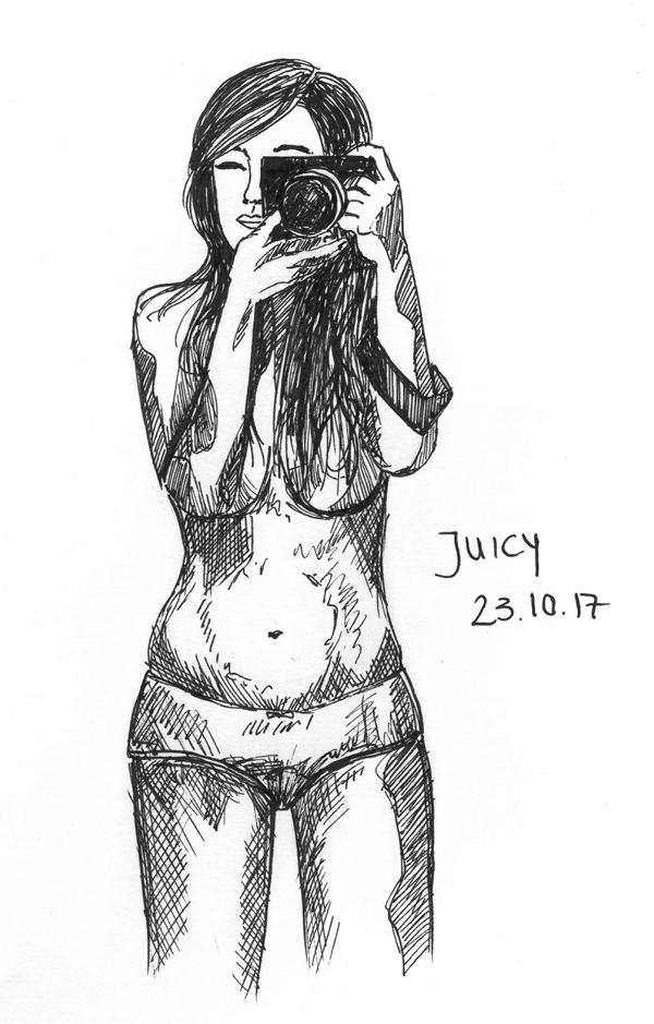 171023 Inktober Juicy