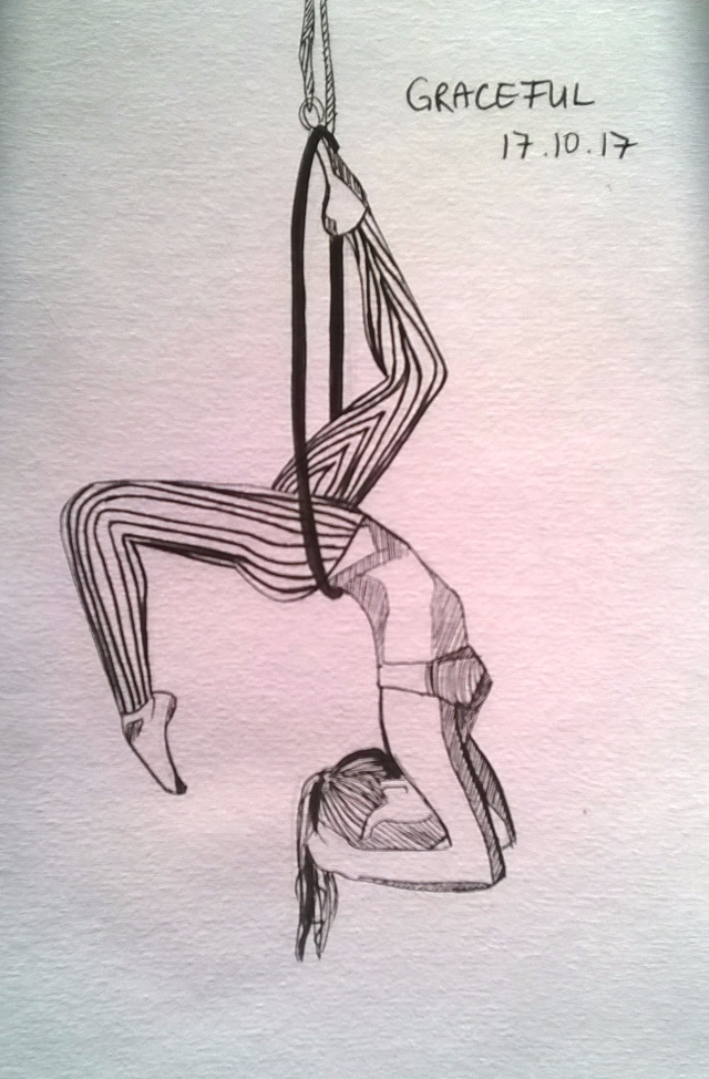 171017 Graceful inktober aerial hoop