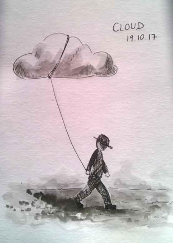 191017 Cloud Inktober