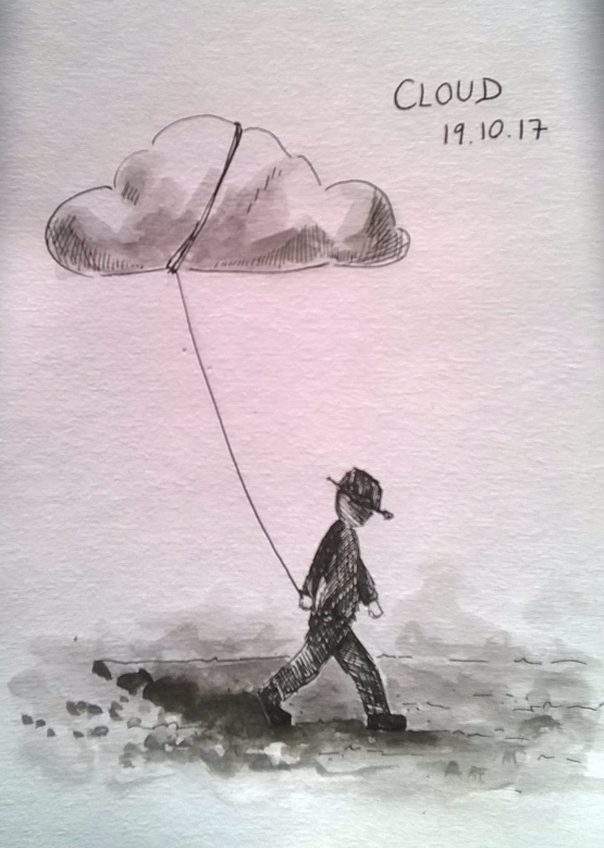 191017 Cloud Inktober