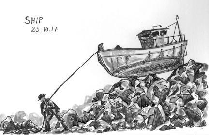 1710 Inktober Ship scan