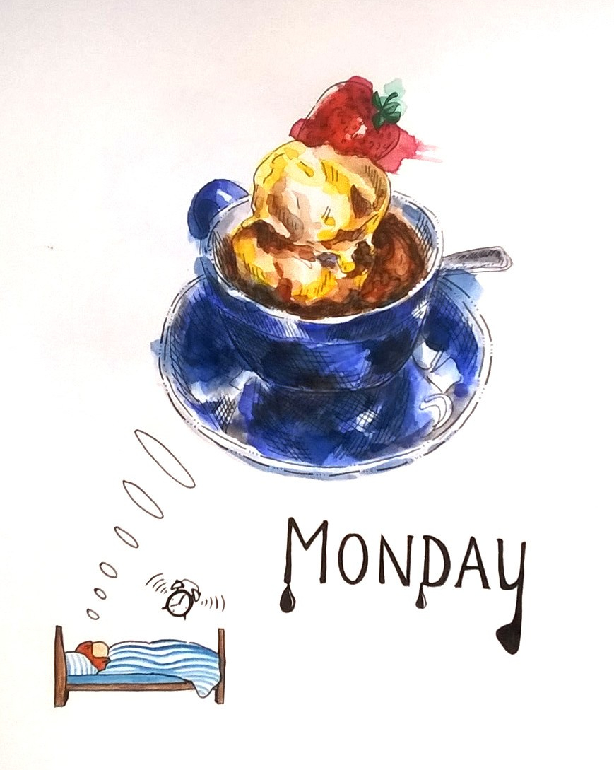 1803 Monday ice cream by Melanie Franz