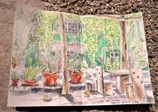 1803 Lobo inn, Tulum, Q Roo, Mexico by Mel