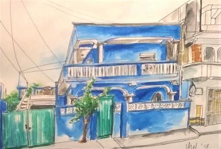 1803 Tulum Blue house