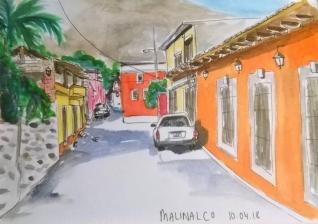 1804 Malinalco by Melanie Franz