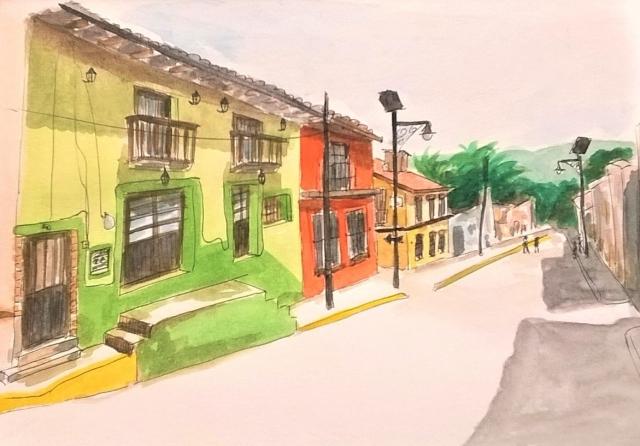 1804 Malinalco street 2 by Melanie Franz