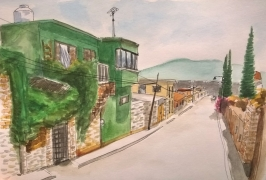 1804 Malincalco street by Mel Franz