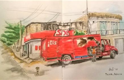 1803 Tulum street truck