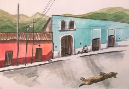 1804 Malinalco street by Melanie Franz