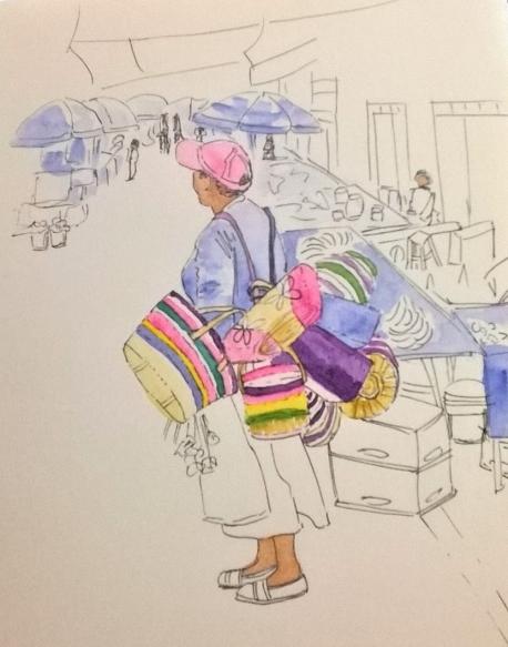 1804 Malinalco street seller draft