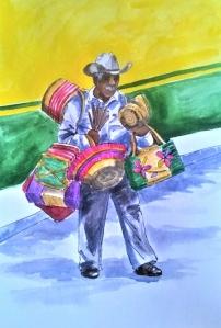 1840 Malinalco street seller