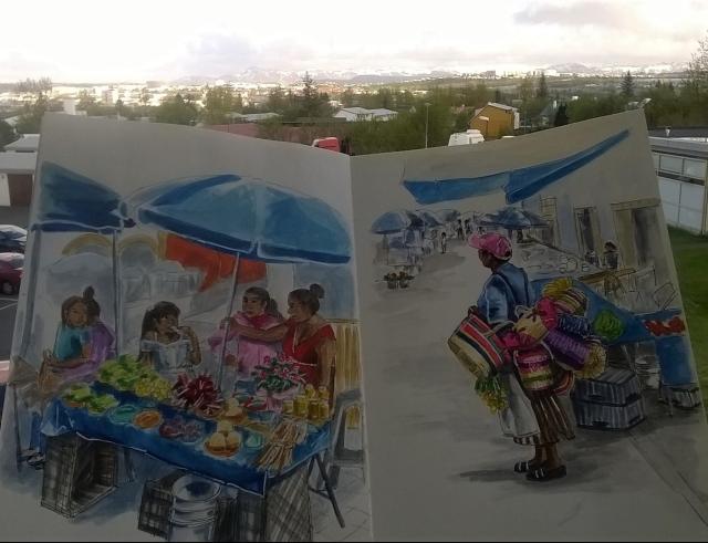 Malinalco mercado