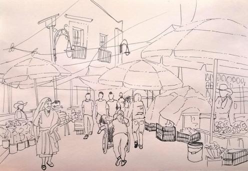 1806 Malinalco mercado rain draft