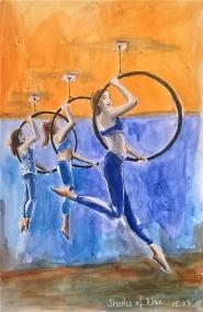 180705 Shades of Blue_worldwatercolormonth_ Melanie Franz