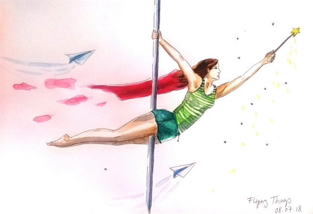 180708 Flying Things_Worldwatercolormonth _ Melanie Franz