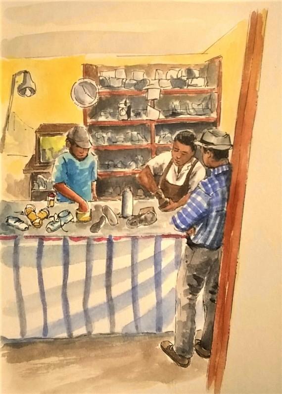 1804 Malinalco shoe maker_Melanie Franz