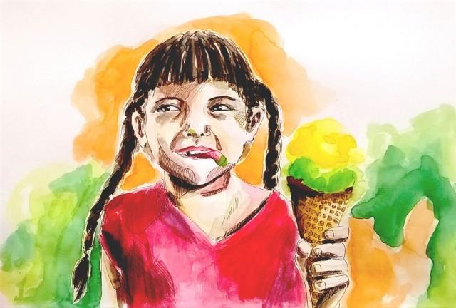 180905 ice cream tongue _ melanie Franz