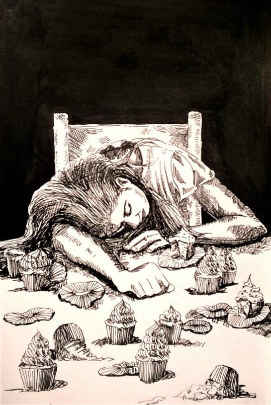 181007 Exhausted_Inktober _ Melanie Franz