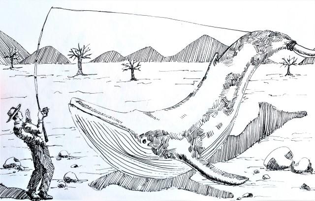 181012 Whale _ Inktober _ Melanie Franz