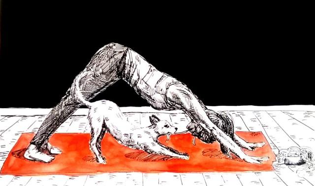 181115 Stretch 2_Melanie Franz_Inktober