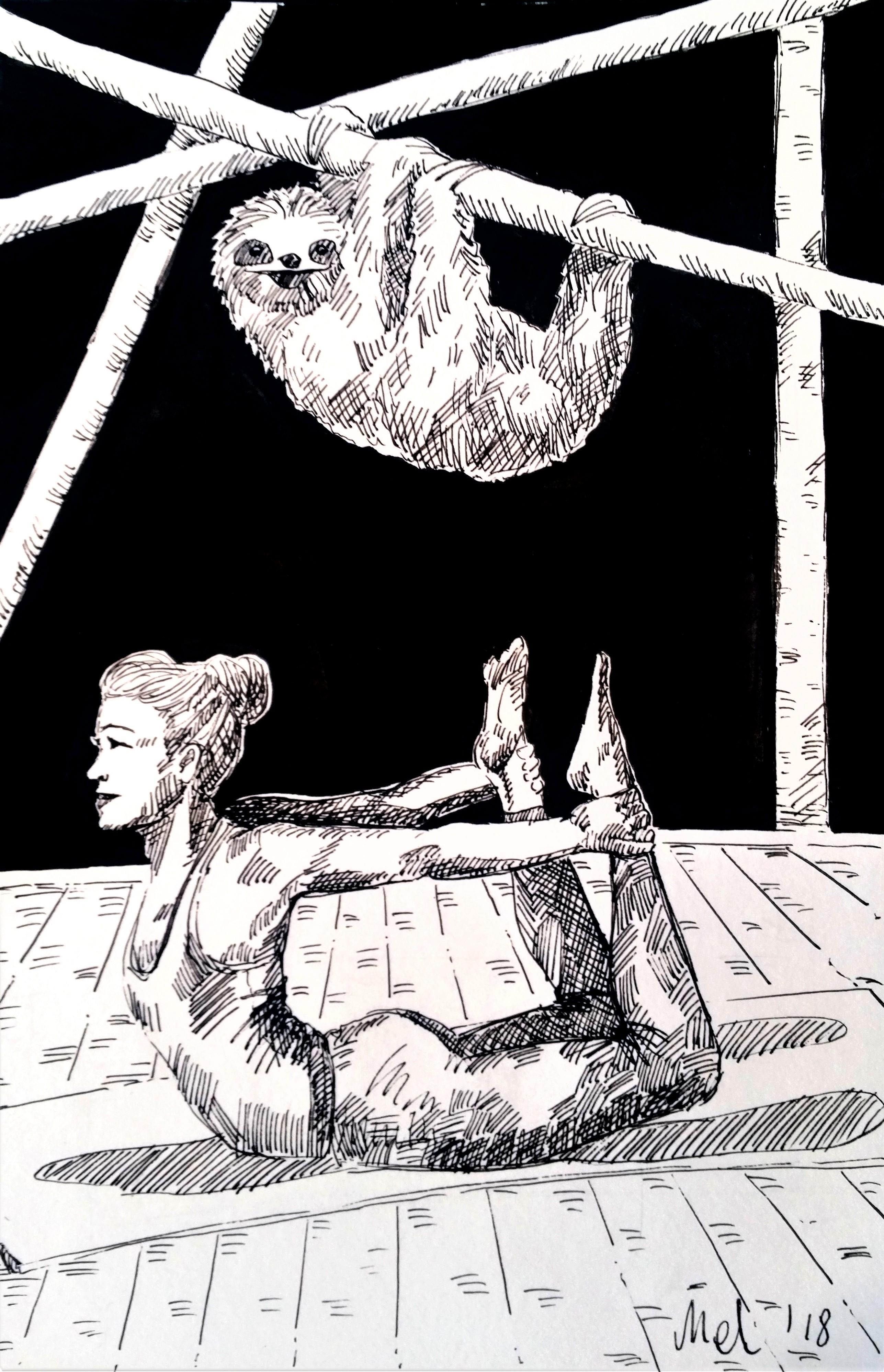 181202 My Inner Sloth_Melanie Franz