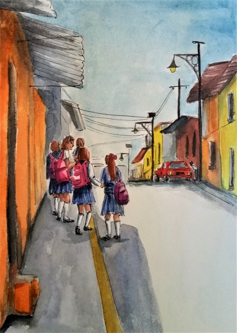 190106 School girls in Malinalco_Melanie Franz