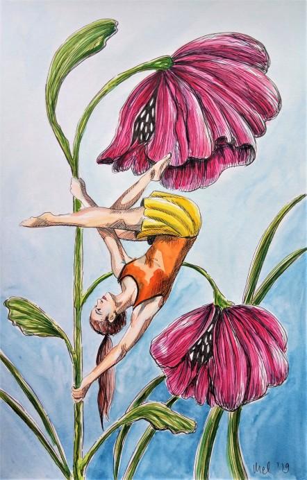 190313 Flower pole_Melanie Franz