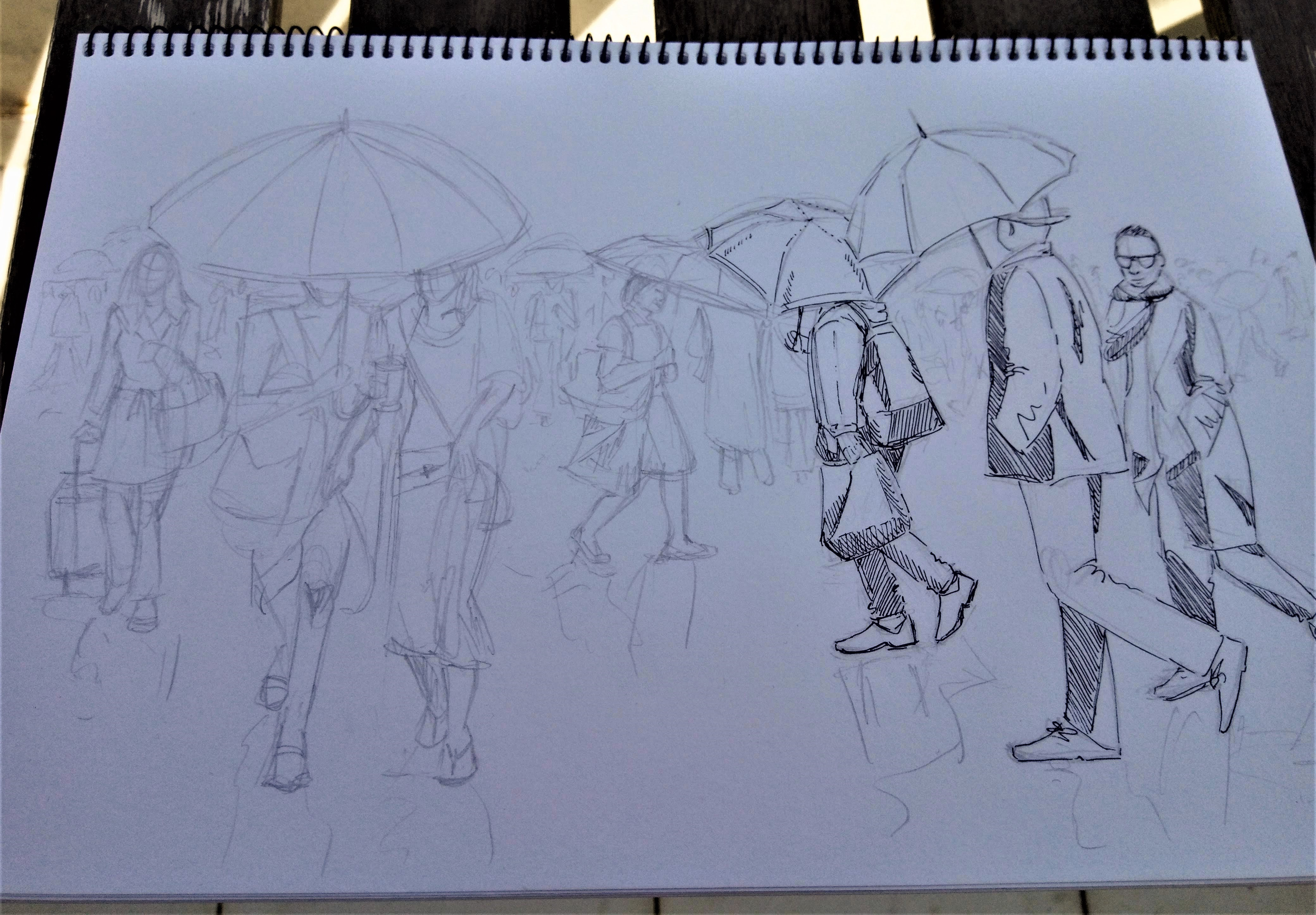 190411 Rain sketch_Melanie Franz