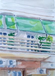 190502 Balcony dog Athens_Melanie Franz