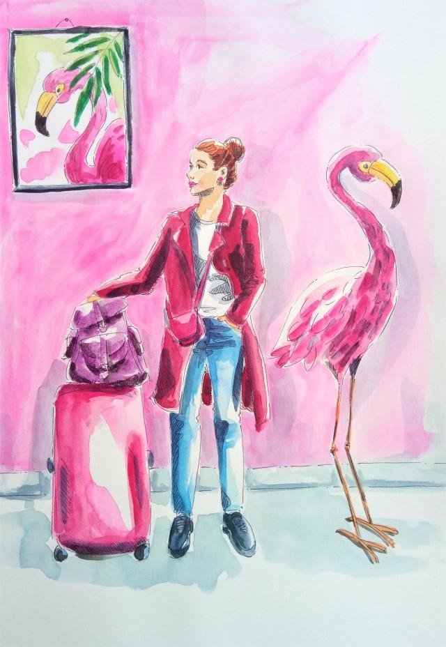 190725 Shades of Pink_WorldWatercolorMonth_Melanie Franz