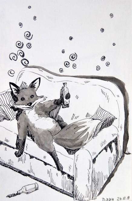 191024 Inktober_Dizzy_Melanie Franz
