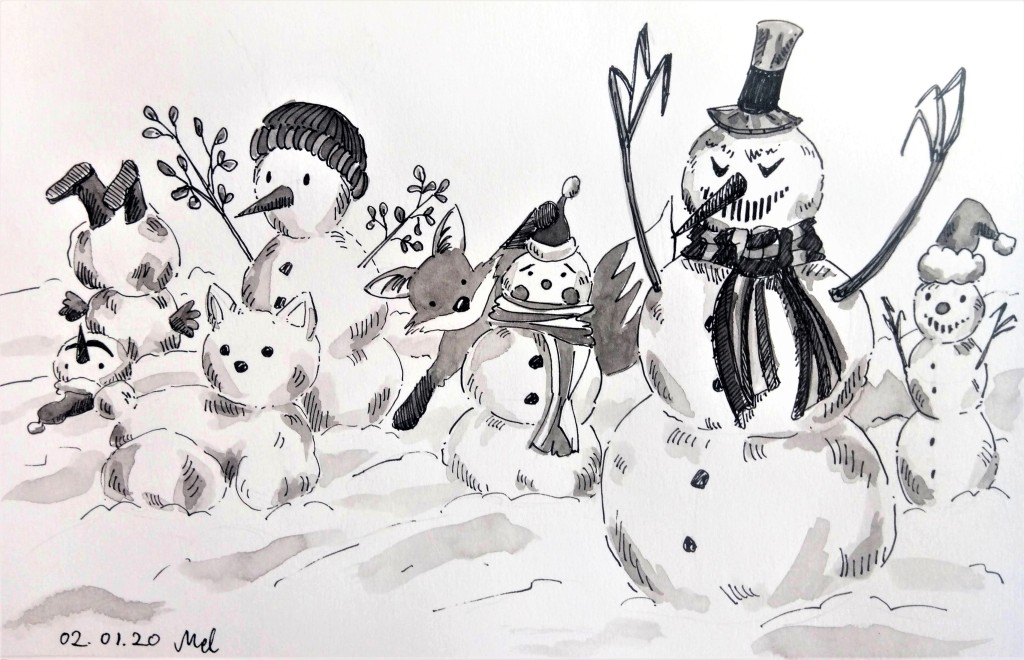 200102-snowman-and-fox_Melanie Franz