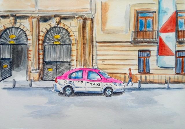 2009-zocalo-cdmx-taxi_Melanie Franz