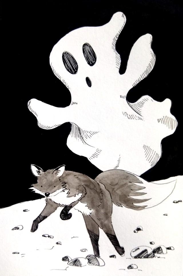 201023 Inktober_RIP_Ghost_Melanie Franz