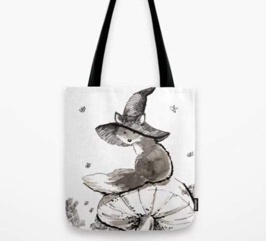 Society 6 Fox tote bag_Melanie Franz