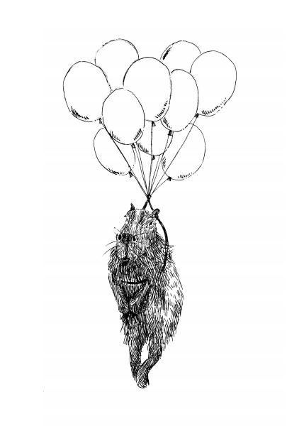 Balloon fligth capybara_Melanie Franz