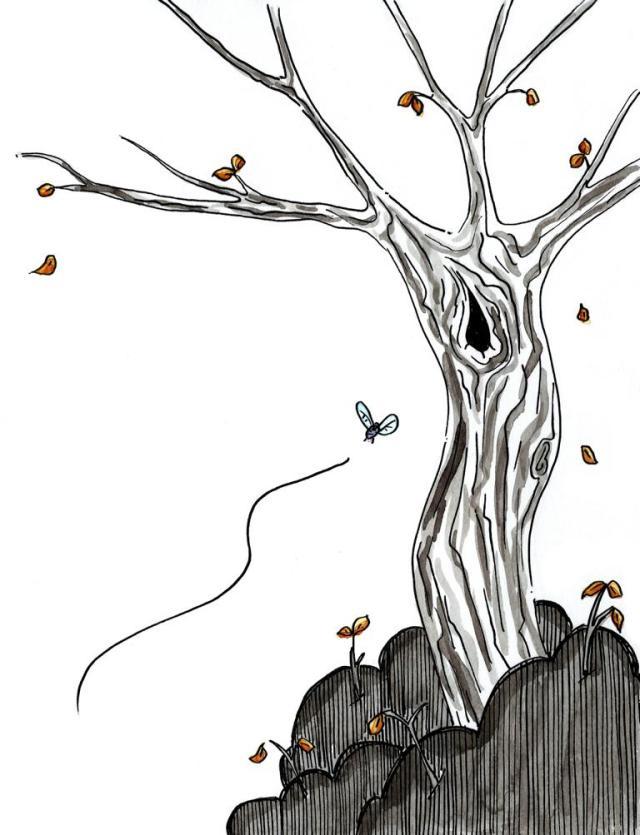 Fly Tree_Melanie Franz