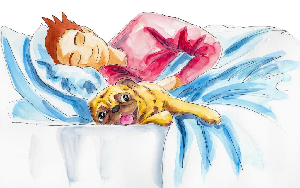 Pug Sleeping Bed_ Melanie Franz